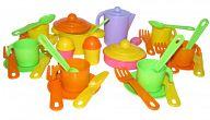 """Набор игрушечной посуды на 6 персон """"Настенька"""""""
