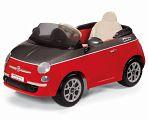 Электромобиль Peg-Perego Fiat 500 Red