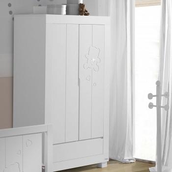 Шкаф Micuna Neus Luxe белый (A-1390)