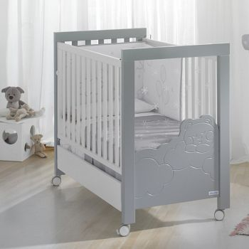 Кровать 120x60 Micuna Dolce Luce Relax белый/серый