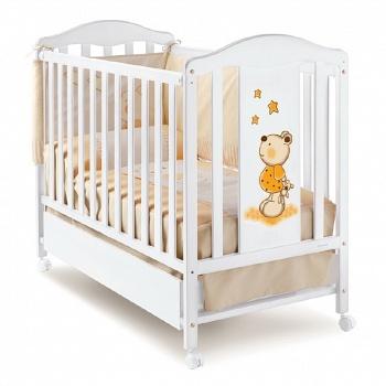 Кровать 120x60 Micuna Selsia белый
