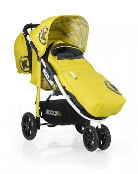 Прогулочная коляска Koochi Pushmatic Primary Yellow (CT2865)