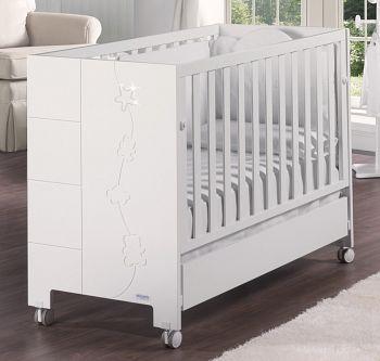 Кровать 120x60 Micuna Juliette Luxe Relax белый