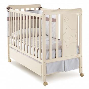 Кровать 120x60 Micuna Nova слоновая кость