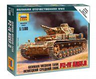 """Сборная модель """"Великая Отечественная. Немецкий средний танк Pz-IV AUSF.D"""""""