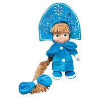 """Мягкая игрушка """"Маша и Медведь. Маша-снегурочка"""""""