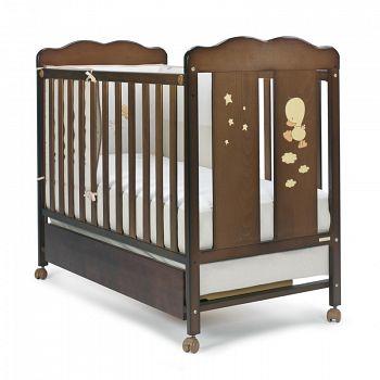 Кровать 120x60 Micuna Dido шоколад