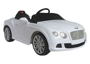 Электромобиль Rastar Bentley GTC White (82100)