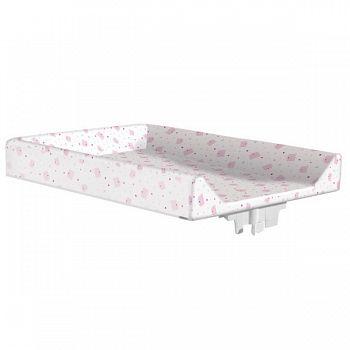 Пеленальная доска на кроватку 120x60 Micuna мишки/сердечки розовые (CP-744)