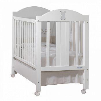 Кровать 120x60 Micuna Cotton Basic белый