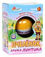 """Растущее яйцо-апельсин """"Друзья Лунтика. Пчеленок"""""""