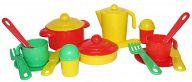 """Набор игрушечной посуды на 2 персоны """"Настенька"""""""