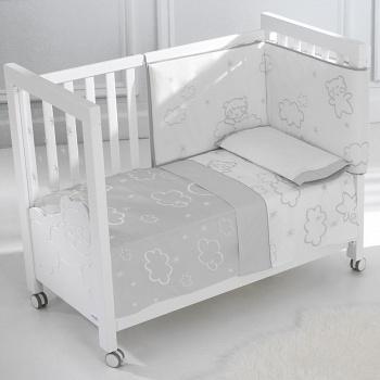 Сменное белье 120x60 Micuna Dolce Luce белый/серый (TX-821)