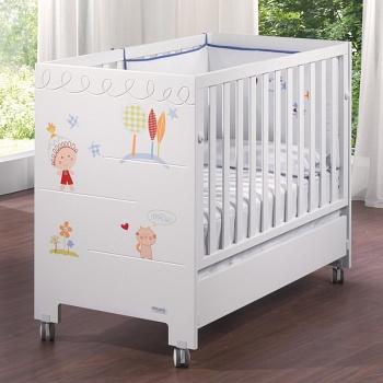 Кровать 120x60 Micuna Duende Relax белый