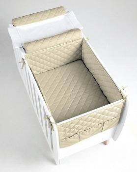 Сменное белье для кровати 76x60 Micuna Harmony бежевый (TX-1686)