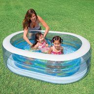 """Бассейн детский овальный """"Oval Whale Fun Pool"""""""