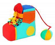 """Детская мягкая игрушка """"Сапожок с мячиком"""""""