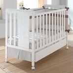 Кровать 120x60 Micuna Nova белый