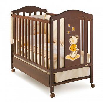 Кровать 120x60 Micuna Selsia шоколад