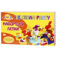 """Набор для лепки """"Волшебство кулинарии. Вечеринка с мороженым"""" (6 цветов)"""