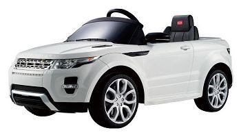Электромобиль Rastar Land Rover Evoque White (81400)