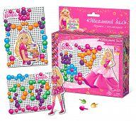 """Мозаика с аппликацией """"Barbie. Школьный бал"""" (90 деталей)"""
