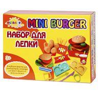 """Набор для лепки """"Волшебство кулинарии. Мини-Бургер"""" (4 цвета)"""