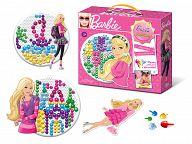 """Мозаика с аппликацией """"Barbie. Барби-дизайнер"""" (125 деталей)"""