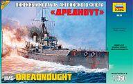 """Сборная модель """"Линейный корабль английского флота """"Дредноут"""""""