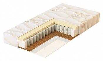 Матрас двусторонний пружинный 119x60 Plitex Bamboo Sleep (БС-119-01)