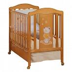 Кровать 120x60 Micuna Selsia вишня