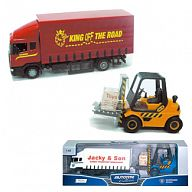 """Модель грузового автомобиля с погрузчиком """"SCANIA MACHINE"""""""