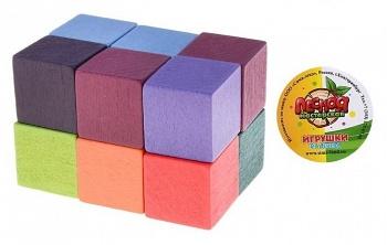 """Деревянная головоломка """"Кубик на резиночке"""" (Лесная мастерская 647466)"""
