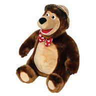 """Мягкая игрушка """"Маша и Медведь. Мишка в шляпе"""""""