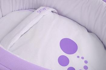 Сменное белье для колыбели Micuna Smart фиолетовый (TX-1482)