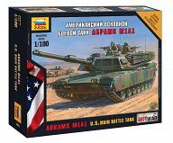 """Сборная модель """"Hot War. Американский основной боевой танк А1М1 """"Абрамс"""""""