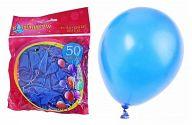 """Воздушные шары """"Синий металлик"""" (50 штук)"""