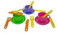 """Набор игрушечной посуды на 3 персоны """"Минутка"""""""