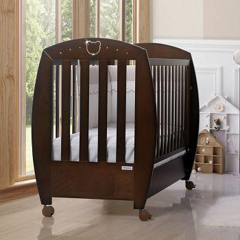 Кровать 120x60 Micuna Valeria Luxe Relax шоколад