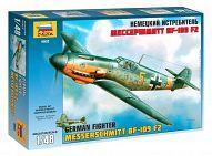"""Сборная модель """"Немецкий истребитель BF-109 F2 """"Мессершмитт"""""""