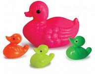 """Набор игрушек для купания """"Утка и 3 утенка"""" (4 элемента)"""