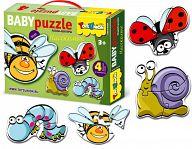 "Контур-пазл ""Baby Puzzle. Насекомые"""