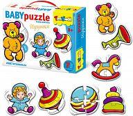 """Контур-пазл """"Baby Puzzle. Игрушки"""""""