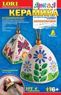 """Роспись по настоящей по керамике """"Колокольчики. Цветы и бабочки"""" (12 цветов)"""