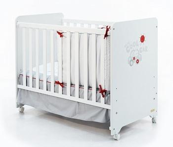 Кровать 120x60 Micuna Promocar белый