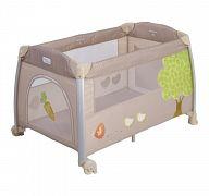 Манеж-кровать Happy Baby Thomas Cream