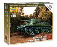 """Сборная модель """"Великая Отечественная. Советский легкий танк БТ-5"""""""