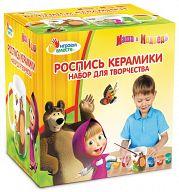 """Роспись керамики """"Кружка. Маша и Медведь"""" (6 цветов)"""