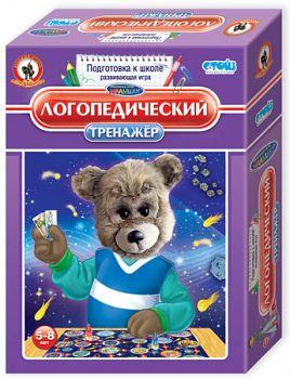 """Развивающая игра """"Тренажер. Логопедический"""" (Русский стиль 03403)"""