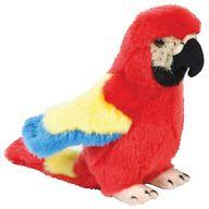 """Мягкая игрушка """"Диалоги о животных. Попугай красный"""""""